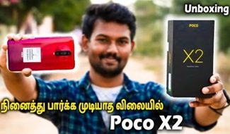 Poco X2 Unboxing & 1st impression on Tech Boss