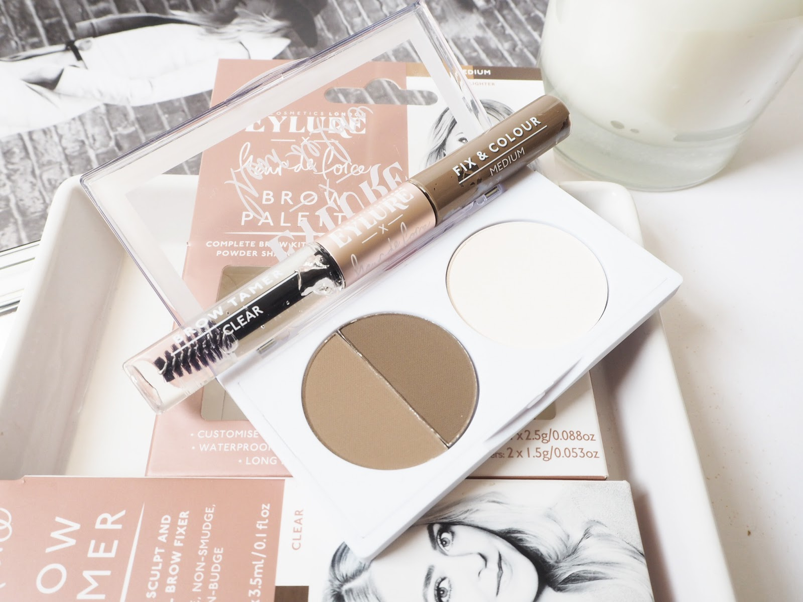 8e89986e57e ... and if used sparingly and blended well, I think it's the most natural  way to fill in any gaps in the brows. The Fleur De Force by Eylure ...