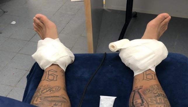 صدمة لباريس .. نيمار يتعرض للإصابة قبل موقعة ريال مدريد