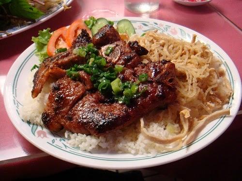 Recipe Vietnamese Broken Rice Saigon Style (Com Tam Vietnam