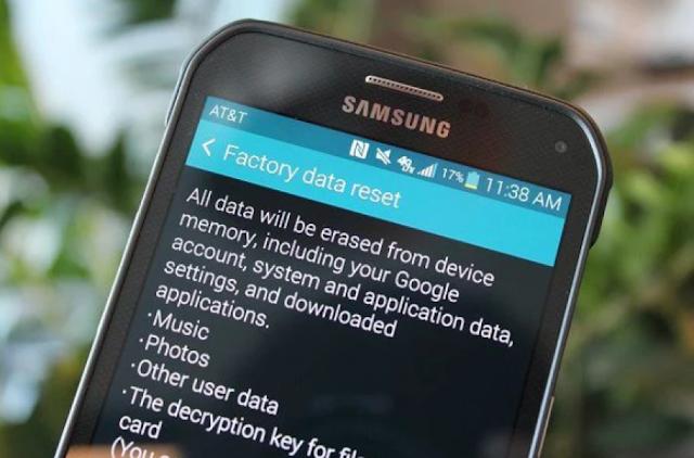 -إعادة تعيين جهاز الاندرويد Android الخاص بك