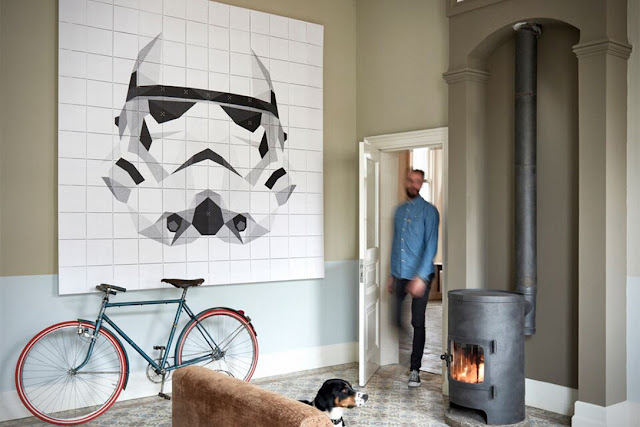 star wars themed wall art