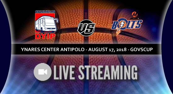 Live Streaming List: Columbian Dyip vs Meralco Bolts 2018 PBA Governors' Cup