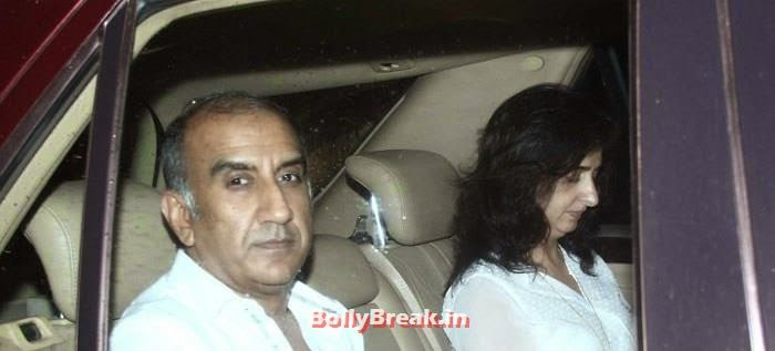 Milan Luthria, Celebs clicked at 'Kick' Special Screening at Yash Raj Studios