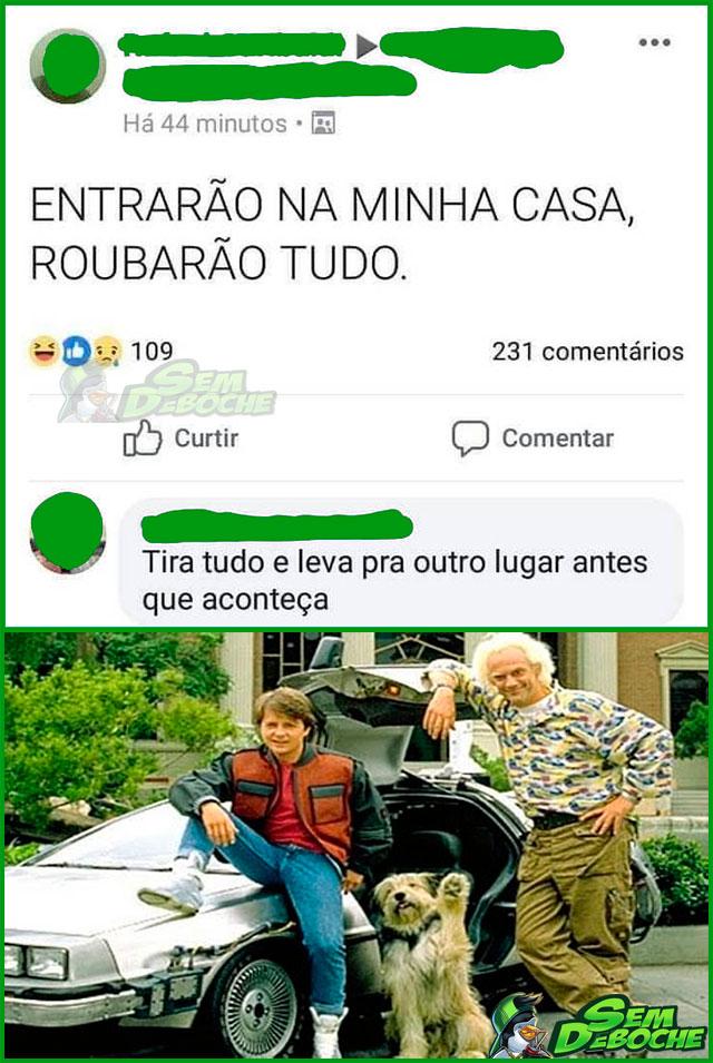 DE VOLTA PRO FUTURO
