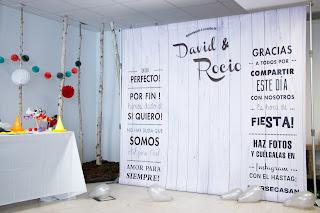 Ideas originales para un photocall de boda