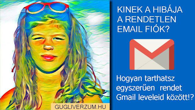 Levélszűrők létrehozása Gmail-ban