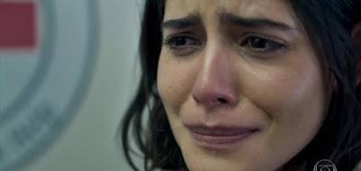 Laila (Julia Dalavia) em cena da novela das seis da Globo; mocinha voltará a ser perseguida por sheik