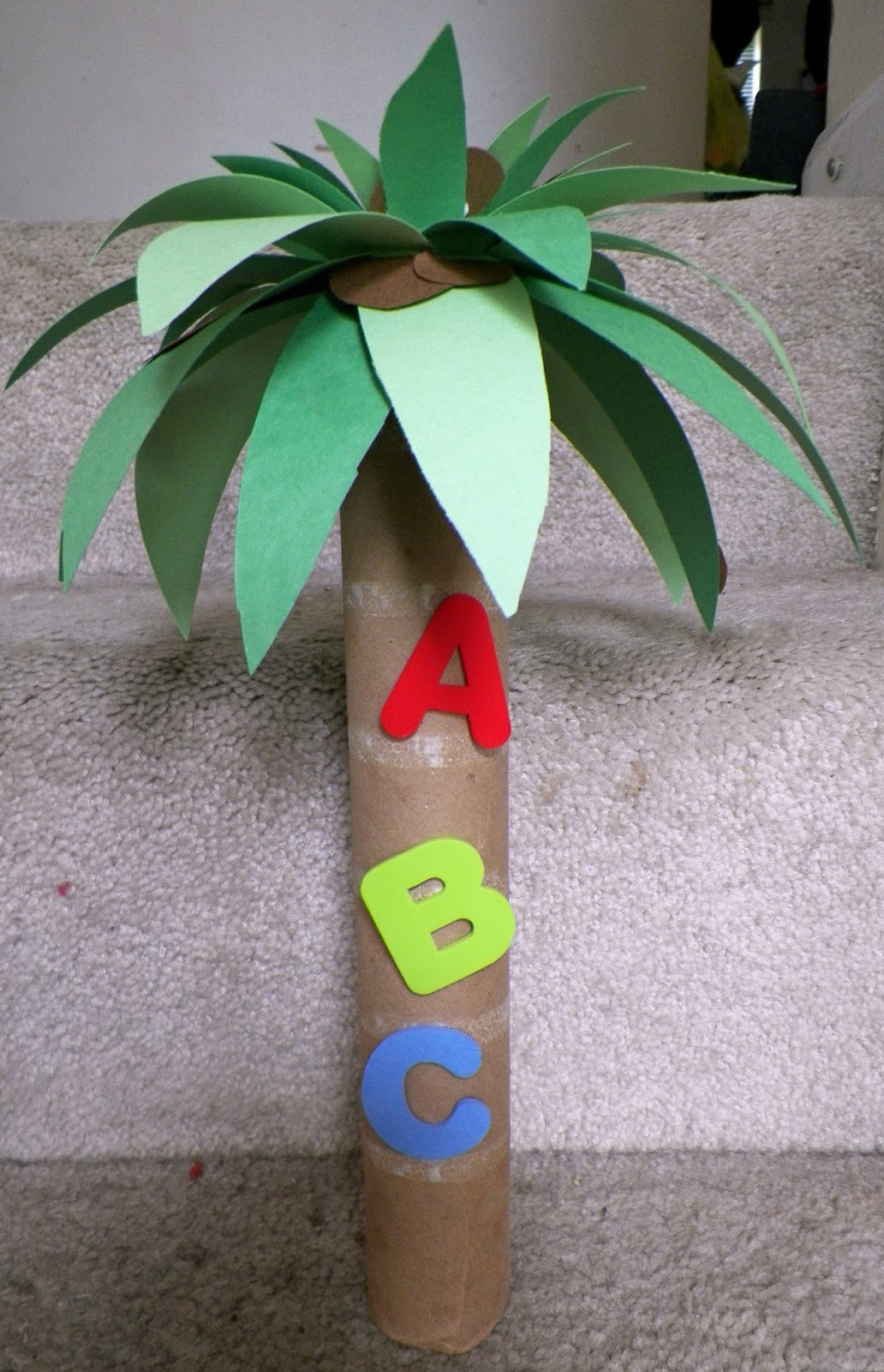 Cassie's Creative Crafts: Chicka Chicka Boom Boom Coconut ... - photo#26