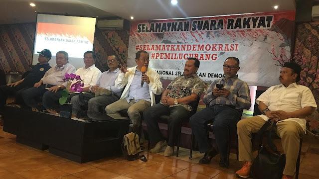 Said Didu-Bambang Widjojanto Sependapat Pemilu 2019 Tidak Jurdil