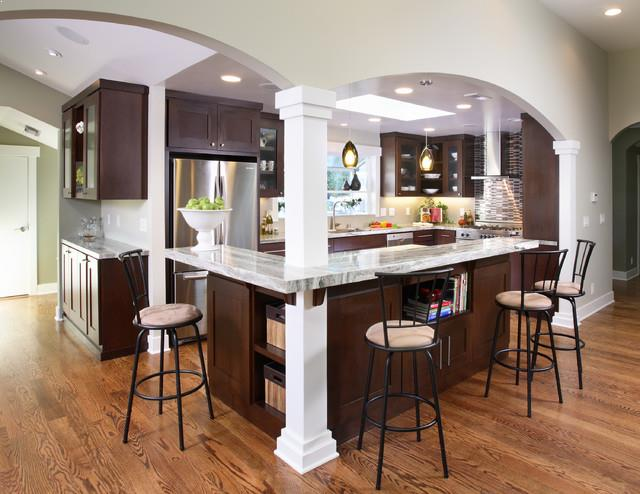 Kitchen Island With Post Clic Bar Stools Storage Design And Best Granite Countertops Ideas Photos