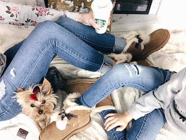 Sale Nordstrom Outfit Ideas Ugg Teacup Yorkie Starbucks Instagram Gita Mommy and Me