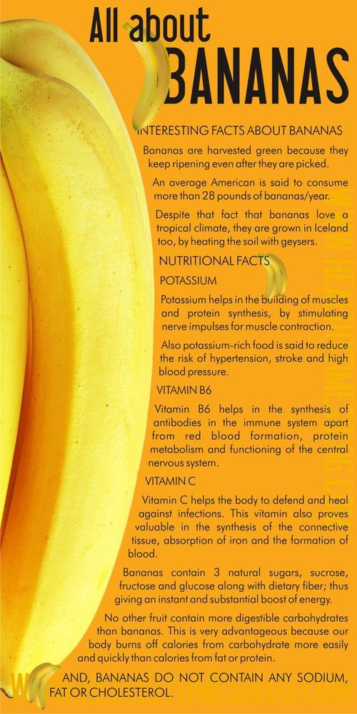 Bananas Heart, Eyes,Ulcers, Hair, Skin,Cancer Benefit