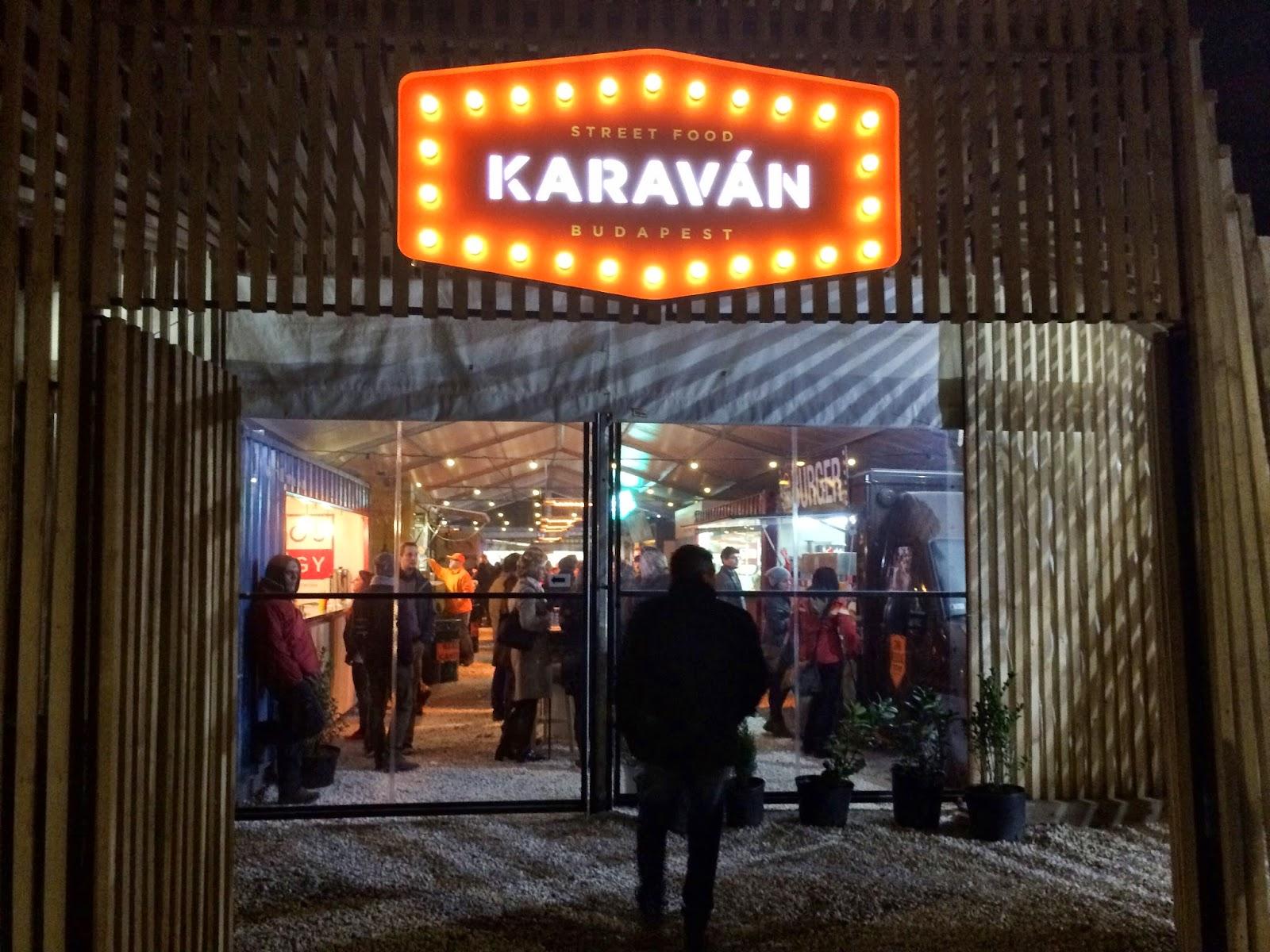 Karavan Street Food - Budapest