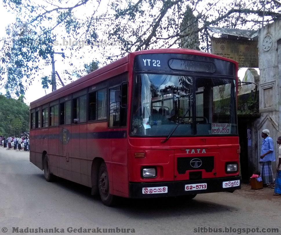 SLTB buses - ශ්රී ලංගම බස්: Modified Wesco TATA 1313 bus ...