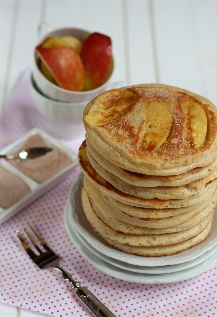 Apfel-Zimt-Pancakes