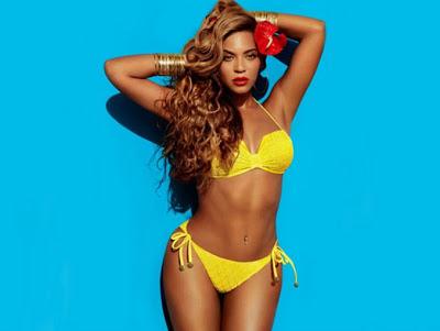 campaña de moda con Beyoncé