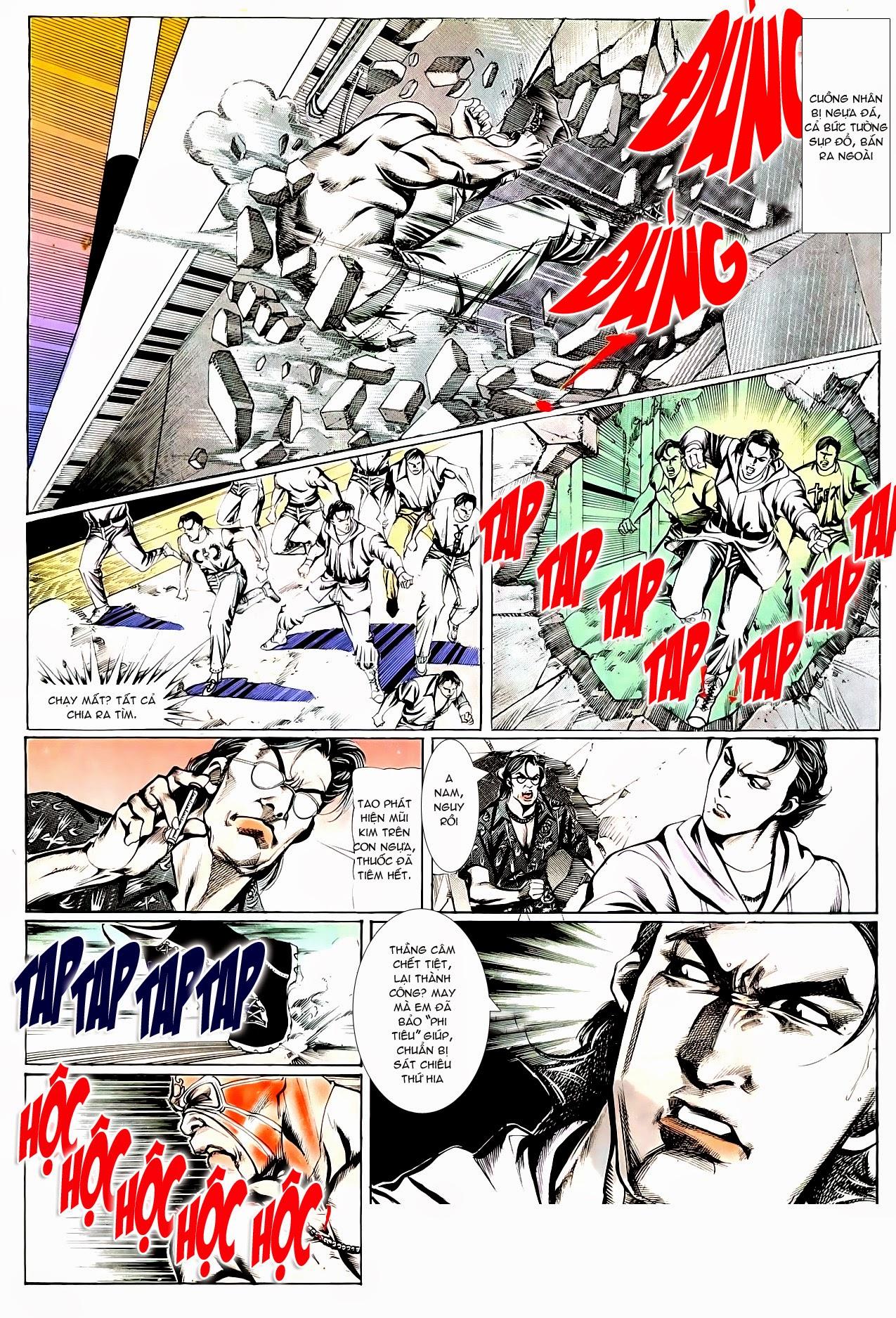 Người Trong Giang Hồ chapter 95: tình kiêu trang 22