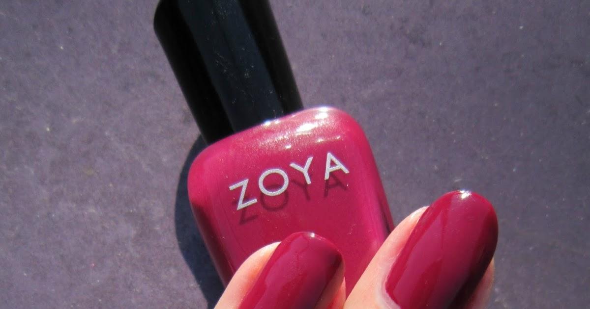 Concrete And Nail Polish Zoya Veronica