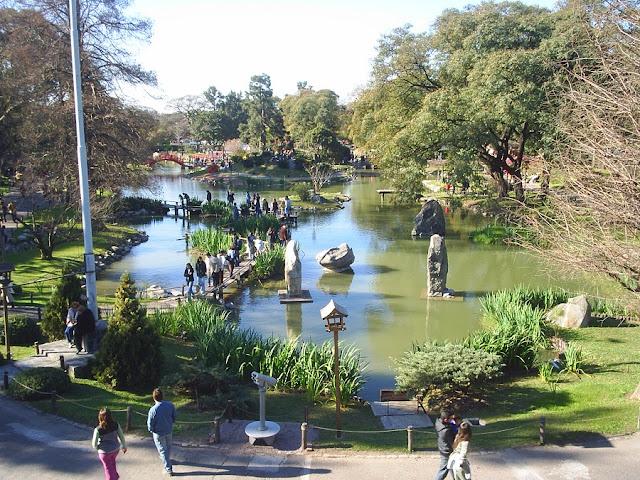 Visita ao Jardim Japonês