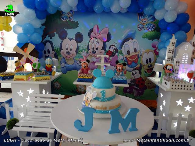 Aniversário baby Disney - Decoração provençal provençal