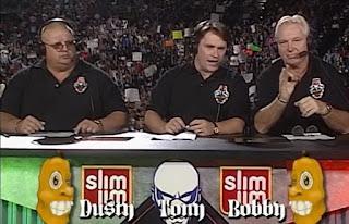 WCW Halloween Havoc 1997 review - Dusty Rhodes Tony Schiavone, Bobby Heenan