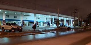 El accidente quedó registrado por una cámara del municipio instalada en Ruta 8.