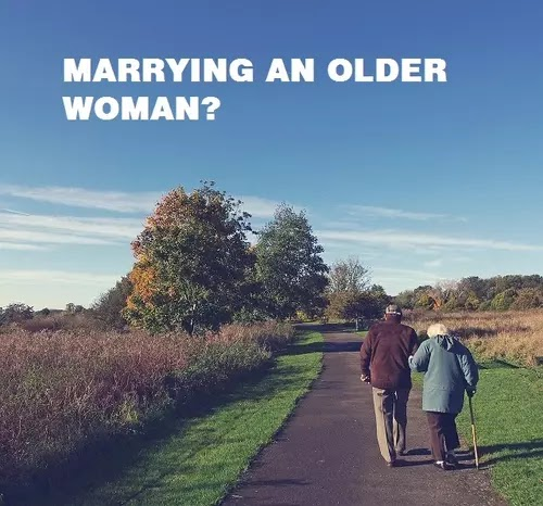 Pros and Cons of Marrying an Older Woman