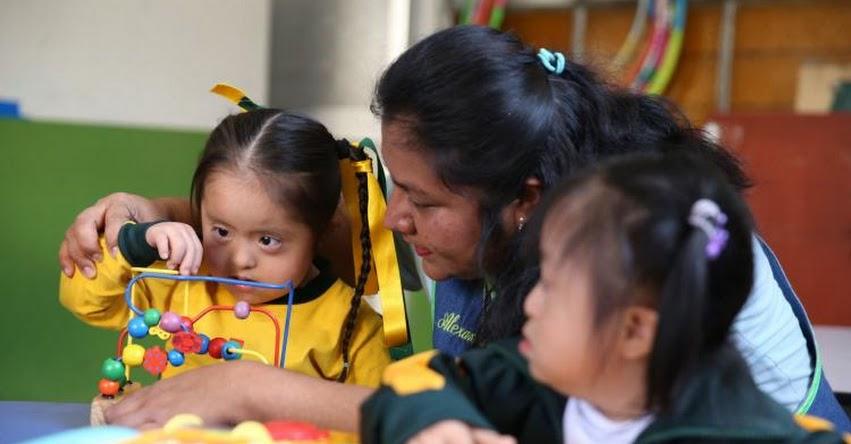 MINEDU destinará recursos para dotar de materiales a estudiantes con discapacidad (R. M. Nº 468-2018-MINEDU) www.minedu.gob.pe