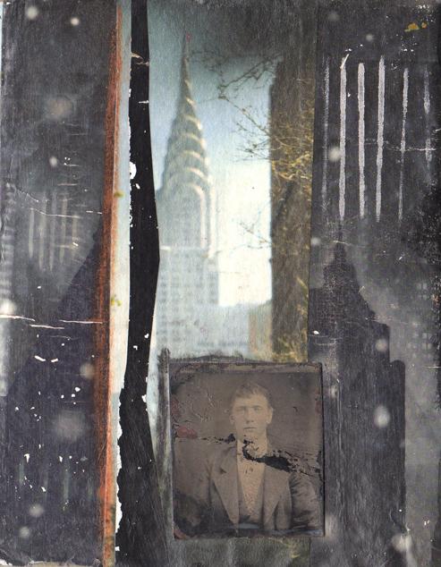 Artjuvenation cigar box journal front and back covers for Koch 6 backjournal