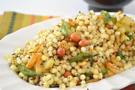 Sabudana Pulav Recipe