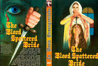 Carátula: La novia ensangrentada (The Blood Spattered Bride)