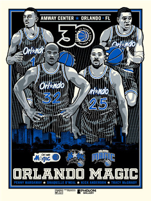 Orlando Magic 30th Anniversary Screen Print by Stolitron x Phenom Gallery