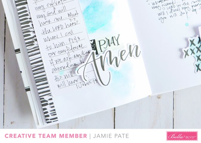 Illustrated Faith Faith Over Fear Faith Journal by Jamie Pate |  @jamiepate for @bellablvd