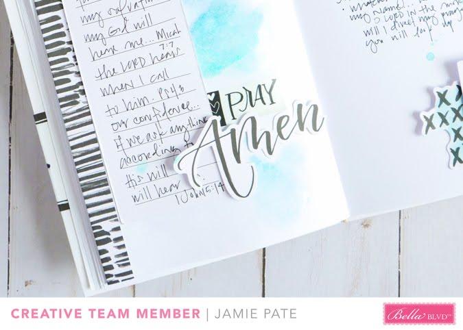 Illustrated Faith Faith Over Fear Faith Journal by Jamie Pate    @jamiepate for @bellablvd