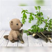 http://amigurumislandia.blogspot.com.ar/2019/05/amigurumi-castor-amigurumi-today.html