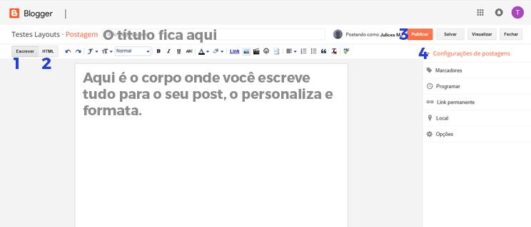 Como Criar um Blog | Tutoriais Blogger