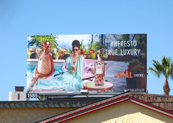 Absolut Elyx Vodka Skal billboard