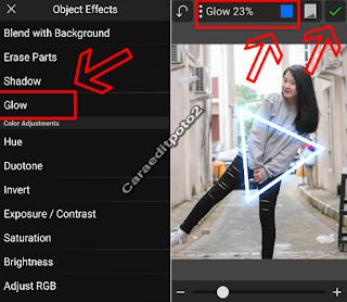 Cara membuat efek gow picsay