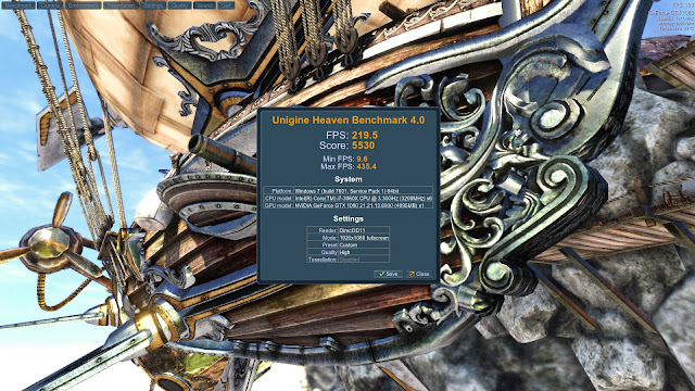 UNIGINE Heaven 4 Benchmark