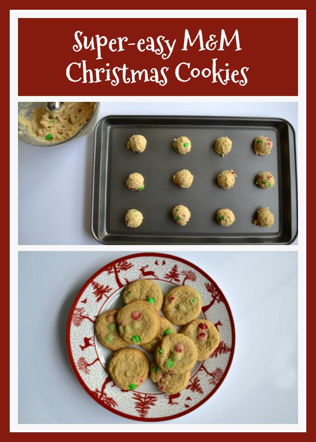 East Coast Mommy M M Christmas Cookies