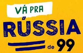 Cadastrar Promoção 99 APP Vá Pra Rússia Pacotes Viagem Tudo Pago