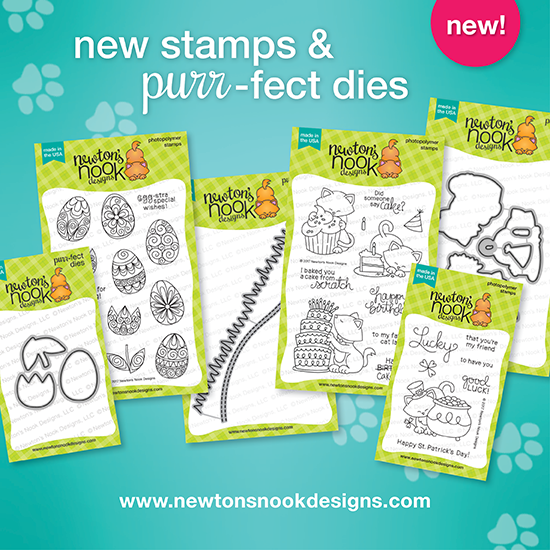 February 2017 release | Newton's Nook Designs #newtonsnook