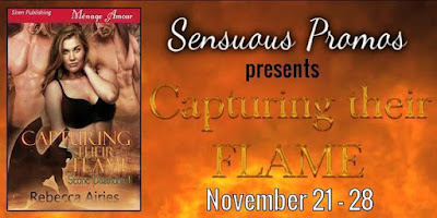 Rebecca Airies has never been HOTTER - Capturing Their Flame #PNR #Romance