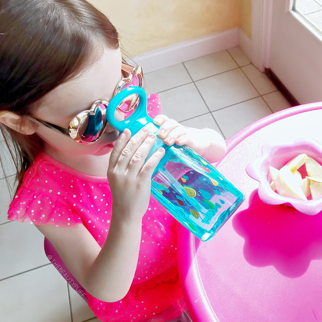 Nuby Thirsty Kids Flip-It Water Canteen  |  Lusterhood