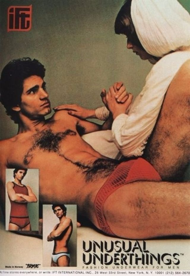 27 Vintage Mens Underwear Ads From The 1970S That Are Cringeworthy  Vintage Everyday-8409