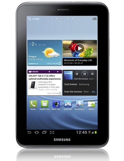 Samsung Galaxy Tab 2 (7 0), first Sammy tab to have ICS out of the