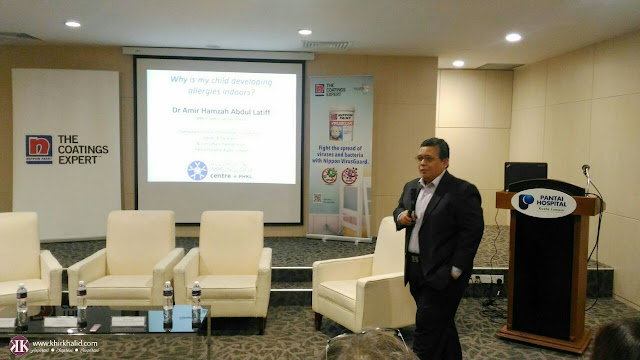 Dr Amir Hamzah Abdul Latif, Nippon Paint's Wellness for Children,