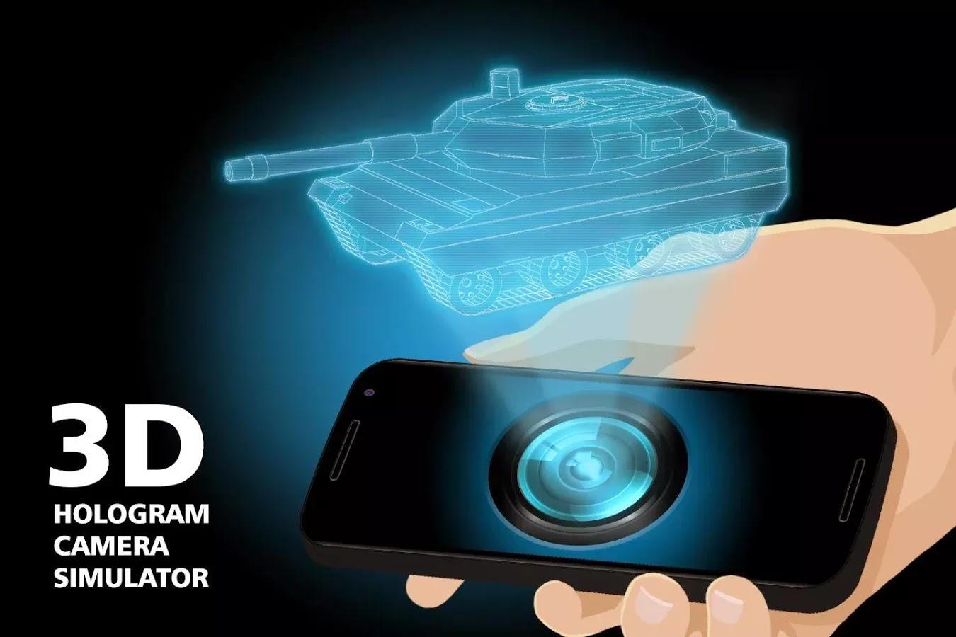3d hologram camera simulator | Download APK For Free