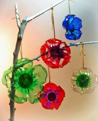 Contoh Bunga Dari Botol lastik Bekas